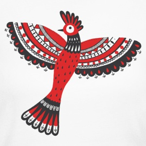 The red bird - Women's Long Sleeve Jersey T-Shirt