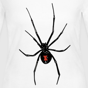 Black Widows Reach - Women's Long Sleeve Jersey T-Shirt