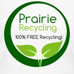 Prairie Recycling Official Logo - Women's Long Sleeve Jersey T-Shirt