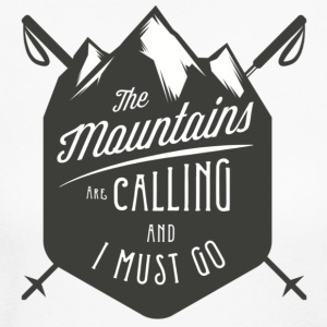 MOUNTAINS ARE CALLING - Women's Long Sleeve Jersey T-Shirt