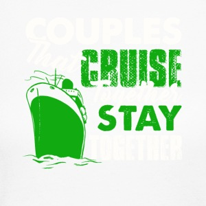 Couples Cruise Together Shirt - Women's Long Sleeve Jersey T-Shirt