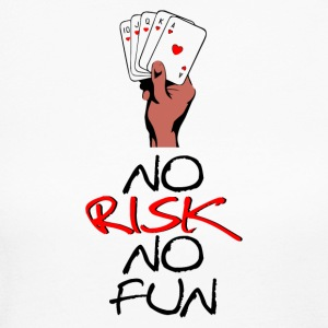 NO RISK NO FUN - Women's Long Sleeve Jersey T-Shirt