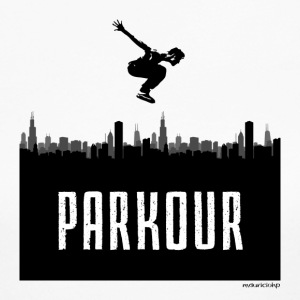 Parkour City - Women's Long Sleeve Jersey T-Shirt