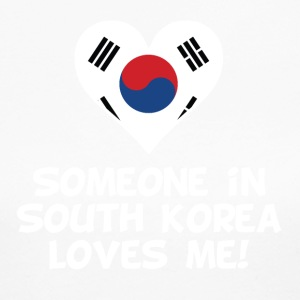 Someone In South Korea Loves Me - Women's Long Sleeve Jersey T-Shirt