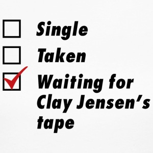Waiting for Clay Jensen's tape - Women's Long Sleeve Jersey T-Shirt