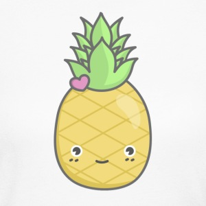 Pineapple Squad - Female - Women's Long Sleeve Jersey T-Shirt