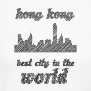 honG kong Best city in the world - Women's Long Sleeve Jersey T-Shirt