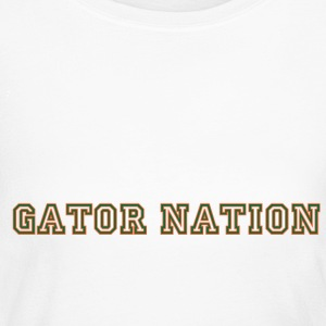 Gator_Nation_ Orange - Women's Long Sleeve Jersey T-Shirt