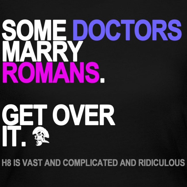 some doctors marry romans black shirt