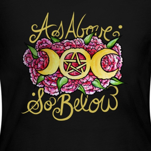 As above so below - Women's Long Sleeve Jersey T-Shirt