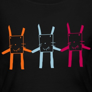 square rabbit brothers - Women's Long Sleeve Jersey T-Shirt