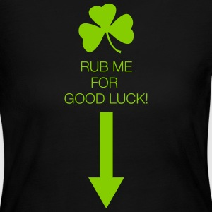 Rub Me for Good Luck - Women's Long Sleeve Jersey T-Shirt