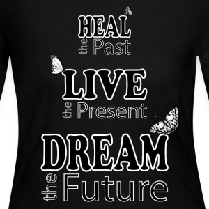 Heal the Past - Women's Long Sleeve Jersey T-Shirt