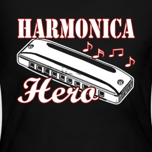 HARMONICA HERO SHIRT - Women's Long Sleeve Jersey T-Shirt