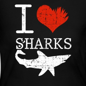 Shark Tee Shirt - Women's Long Sleeve Jersey T-Shirt