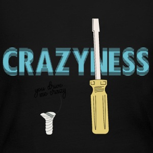 CREATIVE DESIGN || CRAZINESS - Women's Long Sleeve Jersey T-Shirt