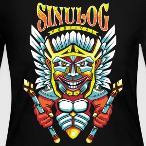 Sinulog Shirt souvenir from Cebu, Philippines - Women's Long Sleeve Jersey T-Shirt