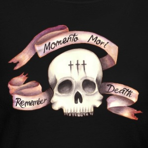 Momento Mori - Remember Death - Women's Long Sleeve Jersey T-Shirt