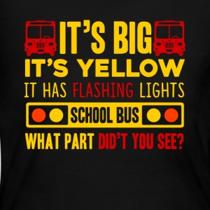 SCHOOL BUS DRIVER SHIRT - Women's Long Sleeve Jersey T-Shirt