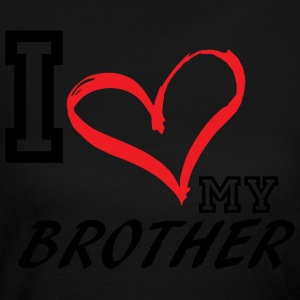 I_LOVE_MY_BROTHER - Women's Long Sleeve Jersey T-Shirt
