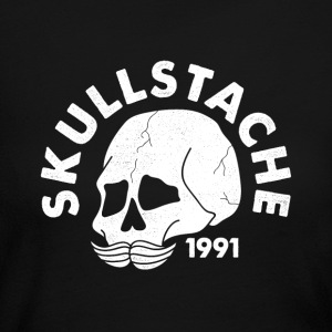 SKULLSTACHE - Women's Long Sleeve Jersey T-Shirt