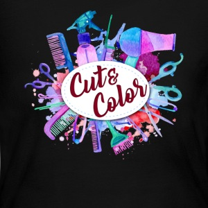 CUT COLOR TEE SHIRT - Women's Long Sleeve Jersey T-Shirt