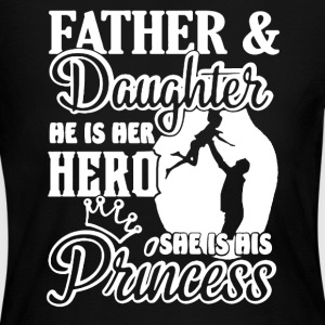 FATHER AND DAUGHTER SHIRT - Women's Long Sleeve Jersey T-Shirt