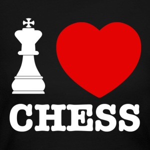 chess love design - Women's Long Sleeve Jersey T-Shirt