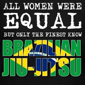 Brazilian Jiu jitsu design - Women's Long Sleeve Jersey T-Shirt