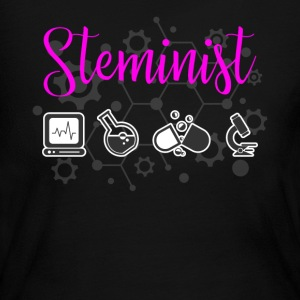 Steminist Female Scientists March - Women's Long Sleeve Jersey T-Shirt