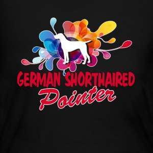 GROOVY GERMAN SHORTHAIRED POINTER SHIRT - Women's Long Sleeve Jersey T-Shirt