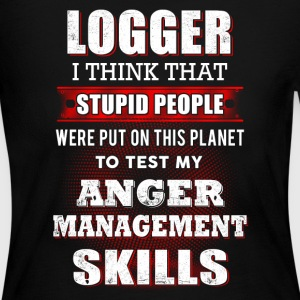 Logger I think that T-Shirts - Women's Long Sleeve Jersey T-Shirt