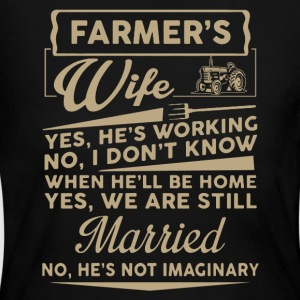 Farmer Wife Shirt - Women's Long Sleeve Jersey T-Shirt