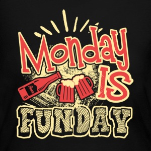 Monday Is Funday Shirt - Women's Long Sleeve Jersey T-Shirt