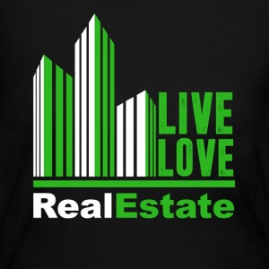 Live Love Real Estate T Shirts - Women's Long Sleeve Jersey T-Shirt