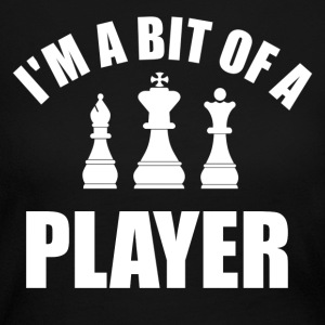 player chess - Women's Long Sleeve Jersey T-Shirt