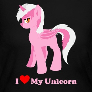 i love my pink fantasy unicorn - Women's Long Sleeve Jersey T-Shirt