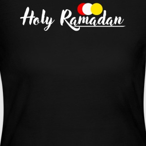 Holy Ramadan Desain - Women's Long Sleeve Jersey T-Shirt
