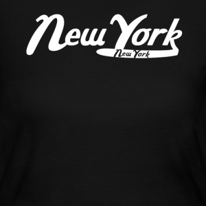 New York City Vintage Logo - Women's Long Sleeve Jersey T-Shirt