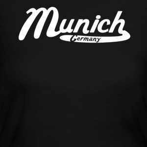 Munich Germany Vintage Logo - Women's Long Sleeve Jersey T-Shirt