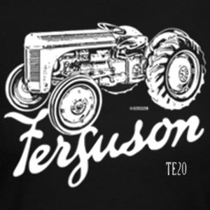 Classic Ferguson TE20 script and illustration - Women's Long Sleeve Jersey T-Shirt