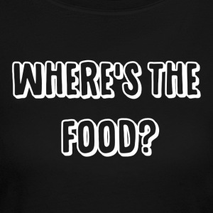 Where's The Food? - Women's Long Sleeve Jersey T-Shirt