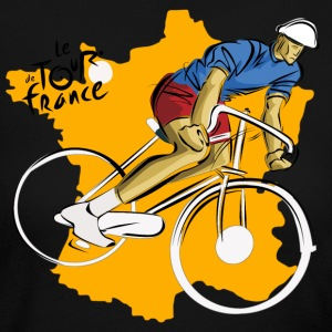 Le Tour de France - Women's Long Sleeve Jersey T-Shirt