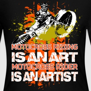 Motocross riding - Women's Long Sleeve Jersey T-Shirt