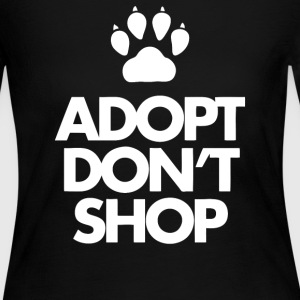 Adopt Dont Shop - Women's Long Sleeve Jersey T-Shirt