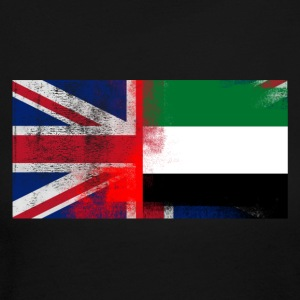 British Emirati Half United Arab Emirates Half UK - Women's Long Sleeve Jersey T-Shirt