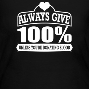 Blood Donor - Women's Long Sleeve Jersey T-Shirt