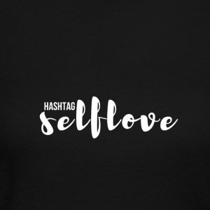 hashtag_selflove_WHITE - Women's Long Sleeve Jersey T-Shirt