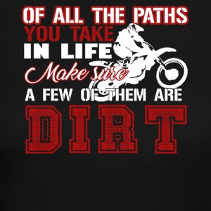 Dirt Bike Shirt - Women's Long Sleeve Jersey T-Shirt