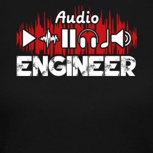 Audio Engineer Tee Shirt - Women's Long Sleeve Jersey T-Shirt